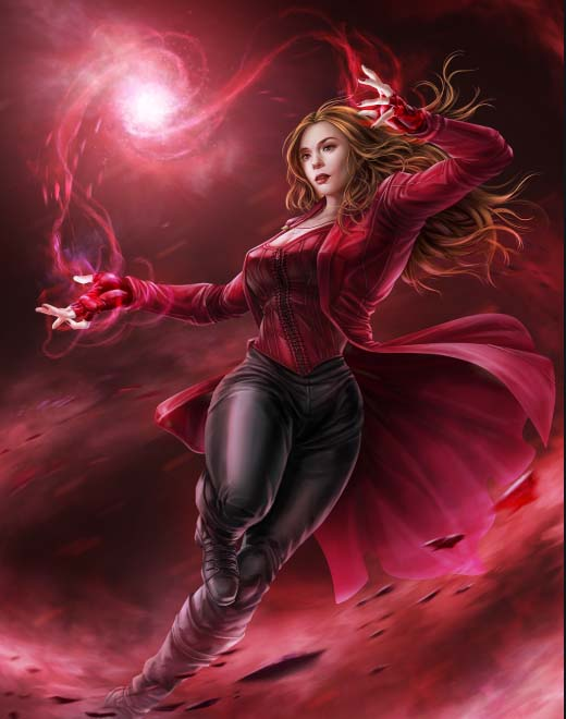 Scarlet Witch Fansart