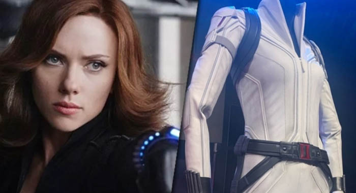 How to get the white suit in Black Widow 2020 movie